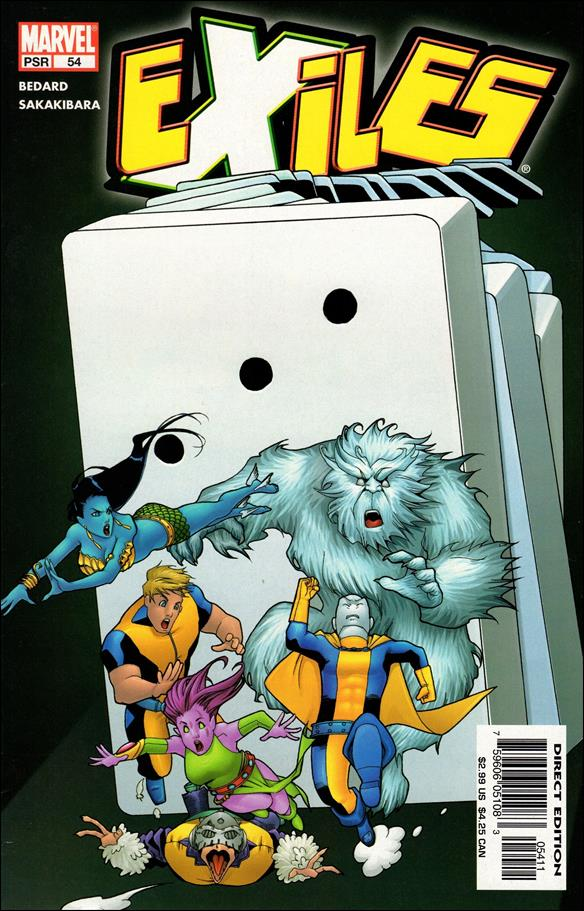 Exiles (2001) 54-A by Marvel