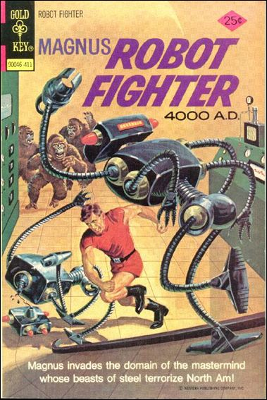 Magnus, Robot Fighter (1963) 37-A by Gold Key