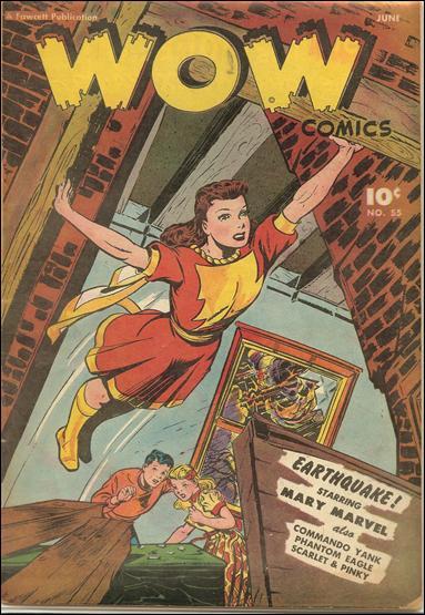 Wow Comics (1940) 55-A by Fawcett