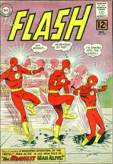 Flash (1959) 132-A by DC