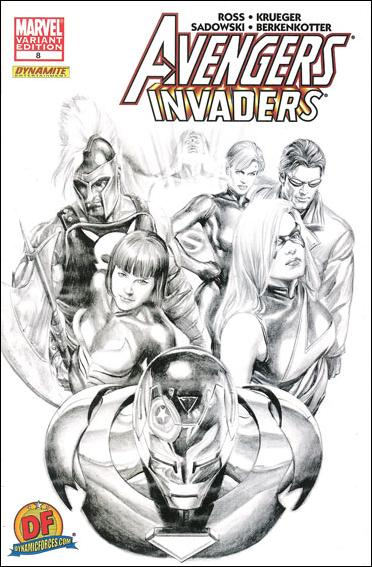 Avengers/Invaders 8-C by Marvel