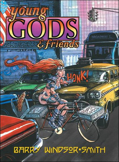 Young Gods & Friends 1-A by Fantagraphics