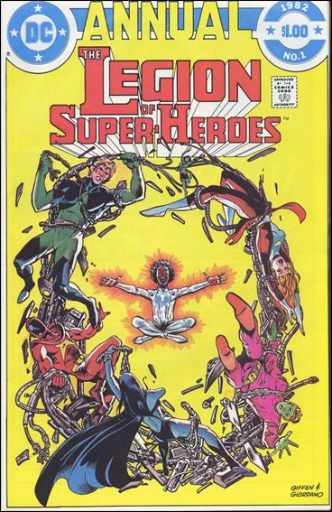 Legion of Super-Heroes Annual 1-A by DC