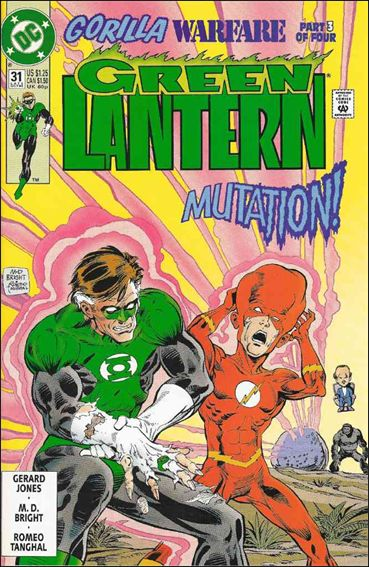Green Lantern (1990) 31-A by DC