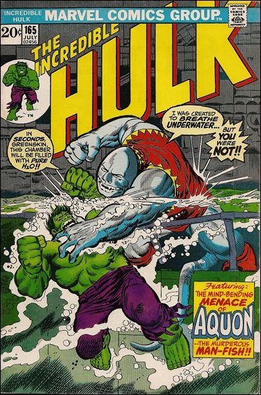 Incredible Hulk (1968) 165-A by Marvel