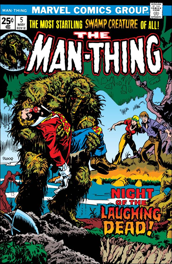 Man-Thing (1974) 5-A by Marvel