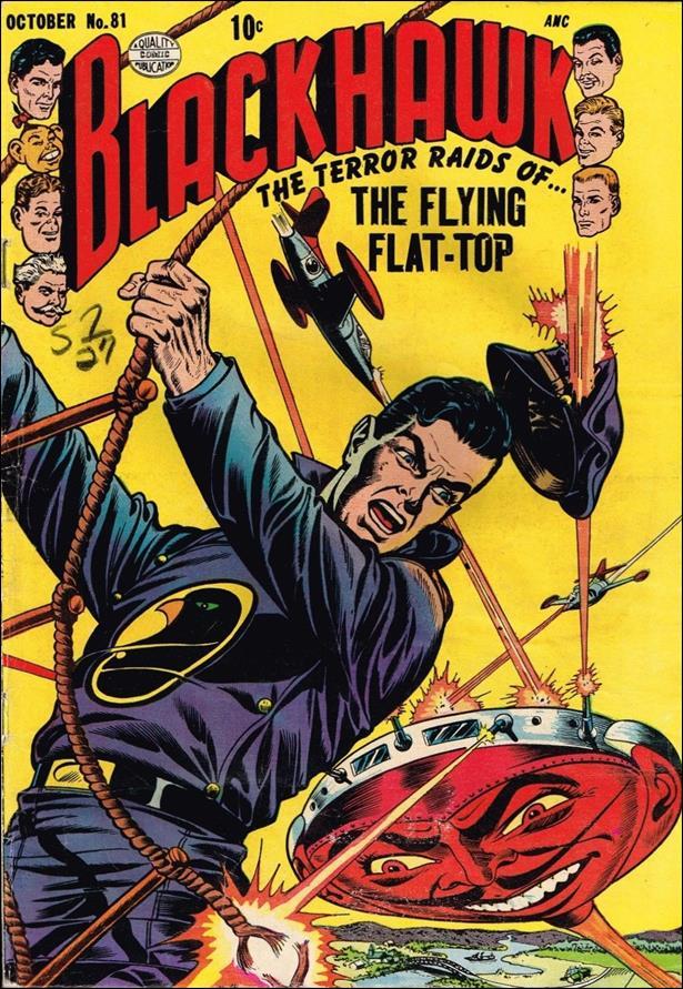 Blackhawk (1944) 81-A by DC