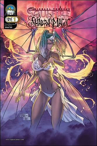 Michael Turner's Soulfire: Shadow Magic 1-B by Aspen