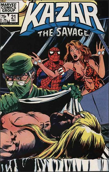 Ka-Zar the Savage 21-A by Marvel