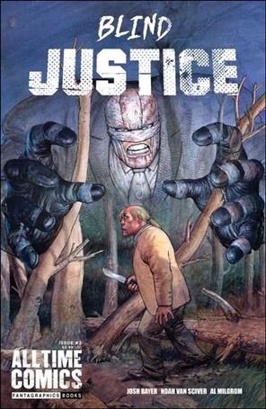 All Time Comics: Blind Justice 2-A