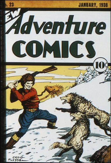 New Adventure Comics 23-A by DC