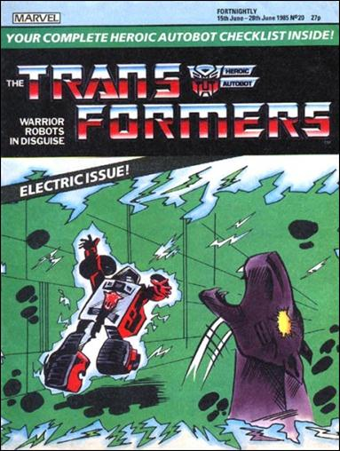 Transformers (UK) 20-A by Marvel UK
