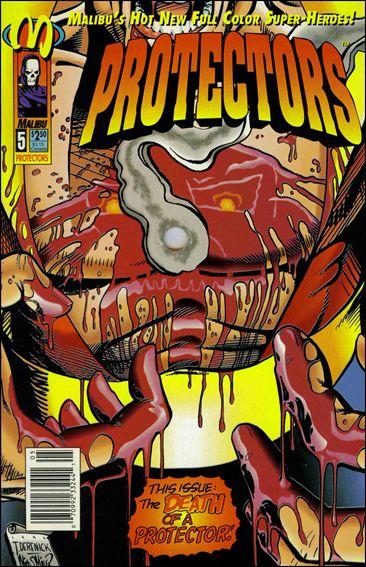 Protectors (1992) 5-C by Malibu