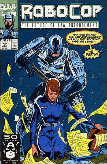 Robocop (1990) 17-A by Marvel