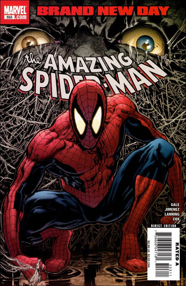Amazing Spider-Man (1963) 553-A by Marvel
