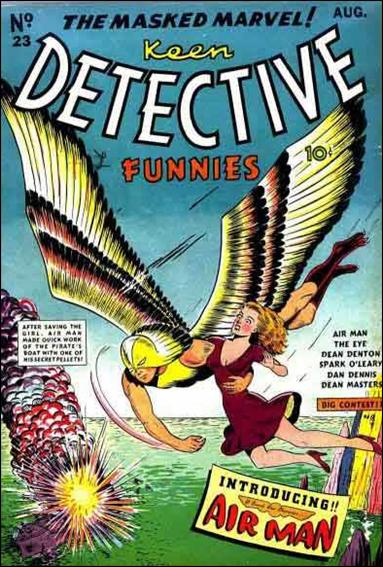 Keen Detective Funnies (1940) 23-A by Centaur Publications Inc.