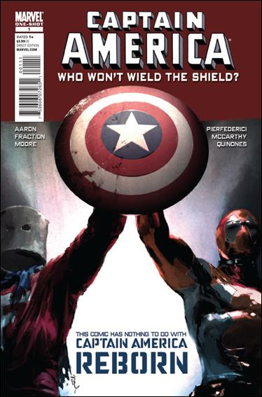 Captain America: Who Won't Wield the Shield 1-A by Marvel