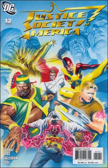 Justice Society of America (2007) 12-A by DC