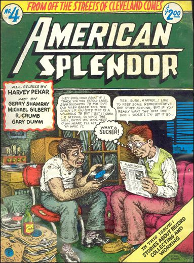 American Splendor (1976) 4-A by Harvey Pekar