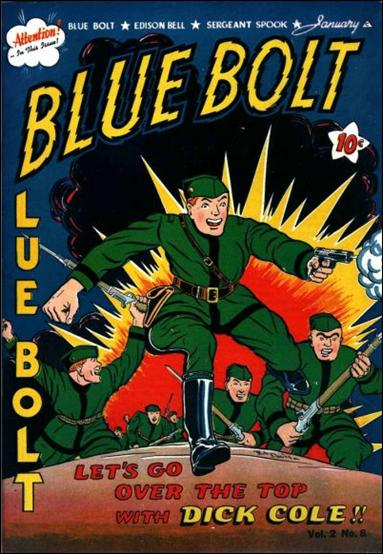 Blue Bolt (1941) 8-A by Novelty Press
