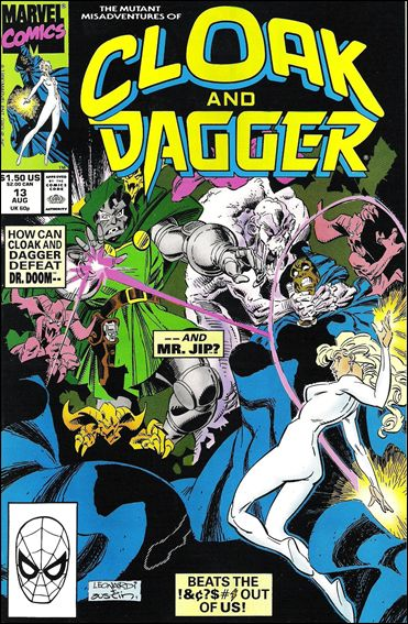 Mutant Misadventures of Cloak and Dagger 13-A by Marvel