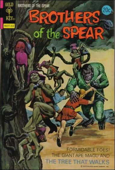 Brothers of the Spear 7-A by Gold Key