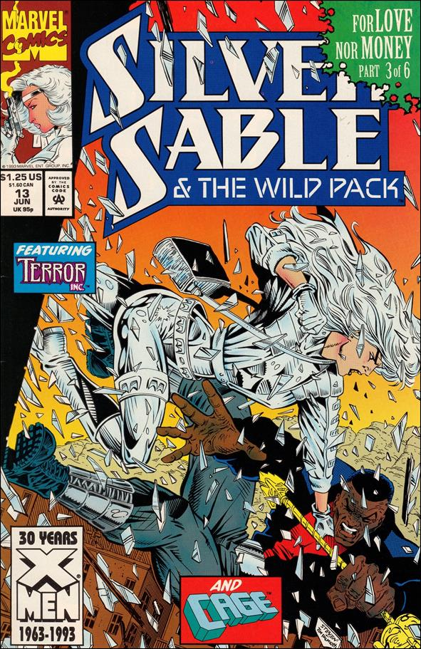 Silver Sable &amp; The Wild Pack 13-A by Marvel