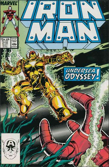 Iron Man (1968) 218-A by Marvel