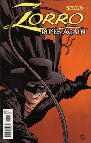 Zorro Rides Again 8-A by Dynamite Entertainment