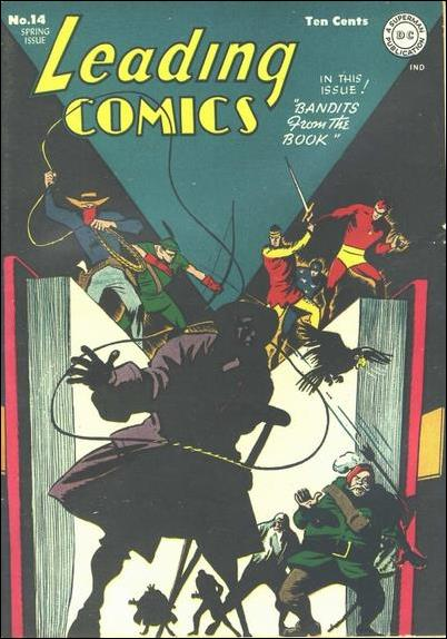 Leading Comics 14-A by DC