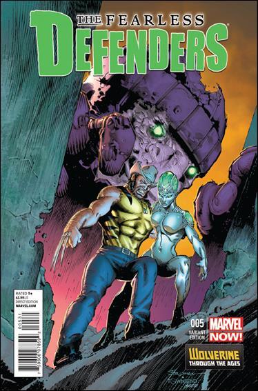 Fearless Defenders 5-B by Marvel