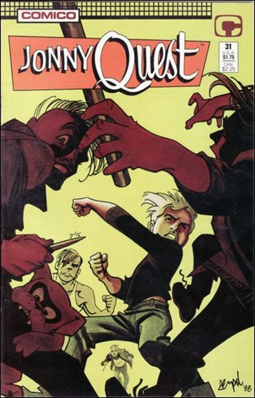 Jonny Quest (1986) 31-A by Comico