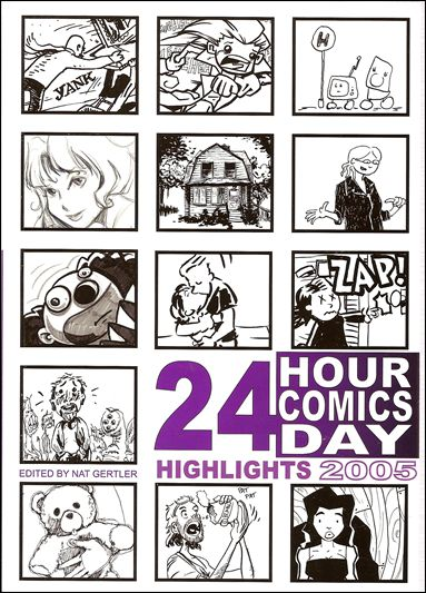 24 Hour Comics Highlights 2005-A by About Comics
