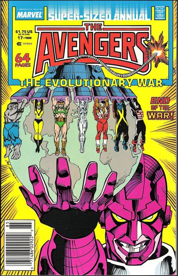 Avengers Annual (1967) 17-A by Marvel