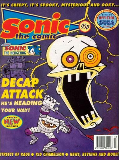 Sonic the Comic 10-A by Fleetway