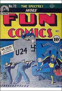 More Fun Comics 72-A by DC
