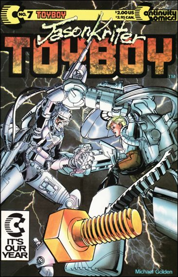 Toyboy 7-A by Continuity Comics