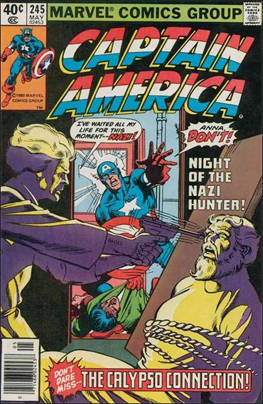 Captain America (1968) 245-A by Marvel