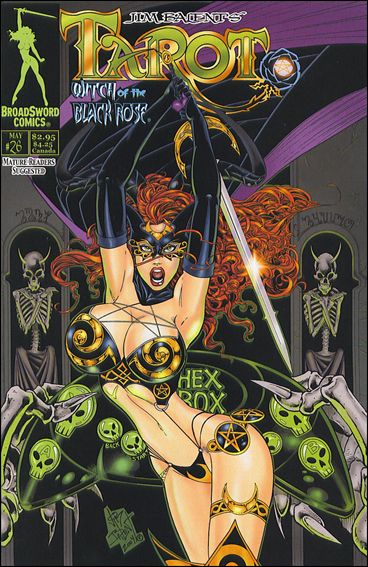 Tarot: Witch of the Black Rose 26-A by BroadSword Comics