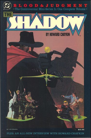 Shadow: Blood and Judgment 1-A by DC