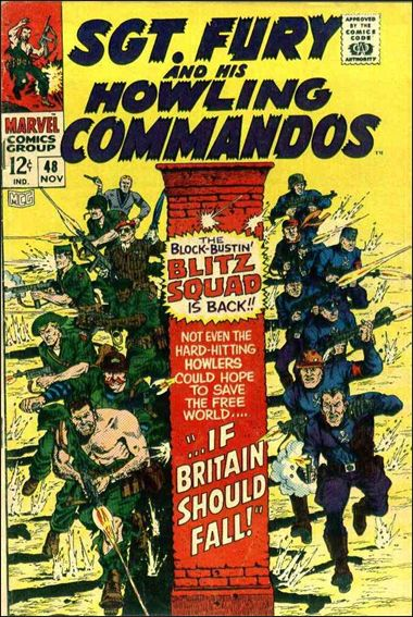 Sgt. Fury and His Howling Commandos 48-A by Marvel