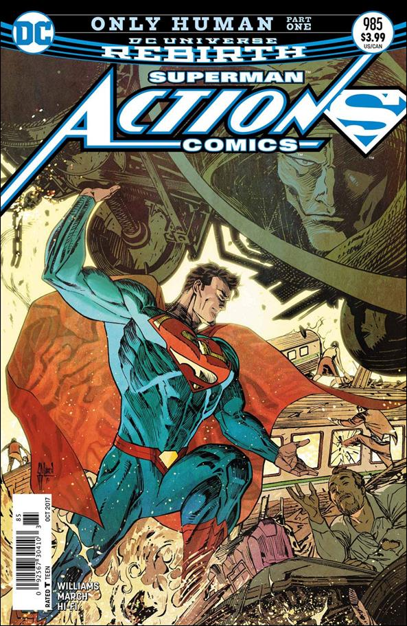 Action Comics (1938) 985-A by DC