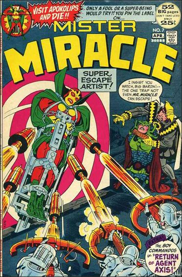 Mister Miracle (1971) 7-A by DC