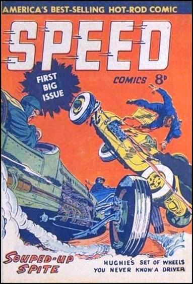 Speed Comics (Australia) 1-A by Transport Publishing