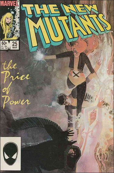 New Mutants (1983) 25-A by Marvel