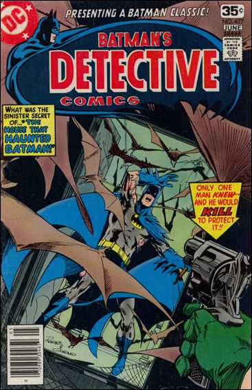 Detective Comics (1937) 477-A by DC