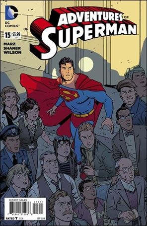Adventures of Superman (2013) 15-A