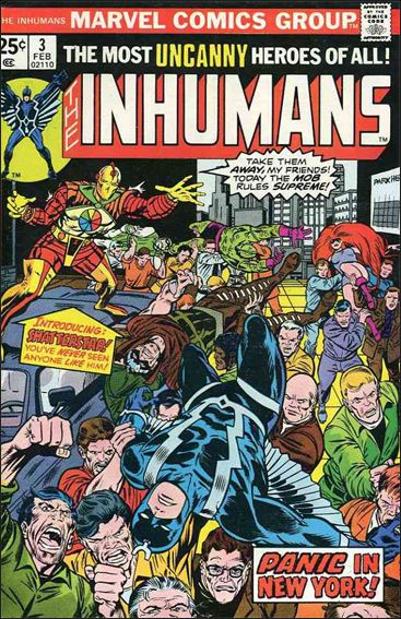 Inhumans (1975) 3-A by Marvel