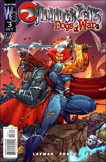 ThunderCats: Dogs of War 3-A by WildStorm
