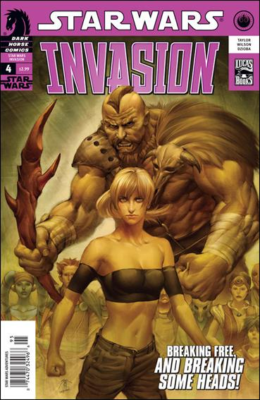 Star Wars: Invasion 4-A by Dark Horse